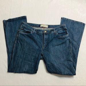 IZOD Jeans Modern Fit Boot Cut Size 16